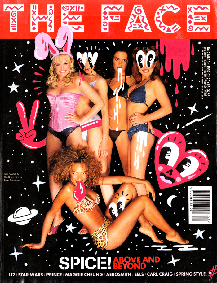 053_Spice Girls_ The Face_2014